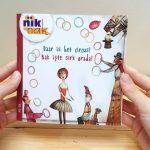 Daar is het circus! - cover met Turks - tweetalig kinderboek van nik-nak