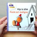 Kip is slim met Frans - cover - tweetalig kinderboek van nik-nak