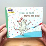 Mimi is cool Nederlands - Frans - cover - tweetalig kinderboek van nik-nak