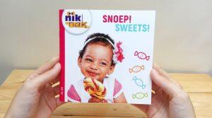 Snoep tweetalig kinderboek Engels