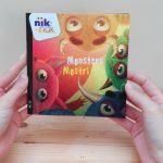 Monsters - cover met Italiaans - tweetalig kinderboek van nik-nak