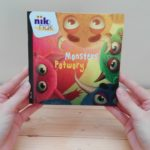 Monsters tweetalig kinderboek met Pools nik-nak_cover