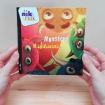 Monsters - cover met Swahili - tweetalig kinderboek van nik-nak