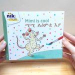 Mimi is cool met Tigrinya - cover - tweetalig kinderboek van nik-nak