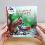 Supermarkt in het bos tweetalig kinderboek