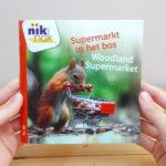 Supermarkt in het bos tweetalig kinderboek met Engels