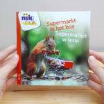 Supermarkt in het bos tweetalig kinderboek met Pools