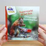 Supermarkt in het bos tweetalig met Turks