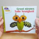 Groot nieuws met Duits - cover - tweetalig kinderboek van nik-nak