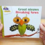 Groot nieuws met Engels - cover - tweetalig kinderboek van nik-nak