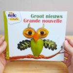 Groot nieuws met Frans - cover - tweetalig kinderboek van nik-nak
