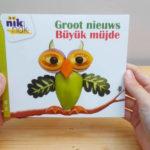 Groot nieuws met Turks - cover - tweetalig kinderboek van nik-nak