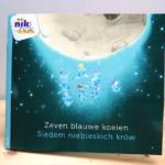Zeven blauwe koeien - tweetalig kinderboek met Pools