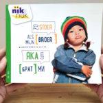 Zo stoer als mijn broer met Bulgaars - cover - tweetalig kinderboek van nik-nak