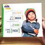Zo stoer als mijn broer met Frans - cover - tweetalig kinderboek van nik-nak