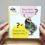 Waar kom ik vandaan? met Frans - cover - tweetalig kinderboek van nik-nak
