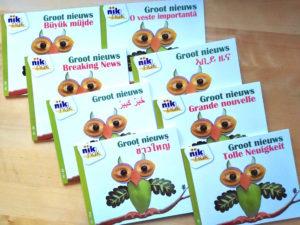Groot nieuws - tweetalige kinderboeken