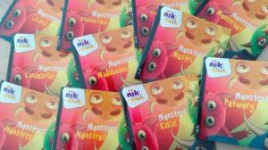 Monsters - tweetalige kinderboeken nik-nak