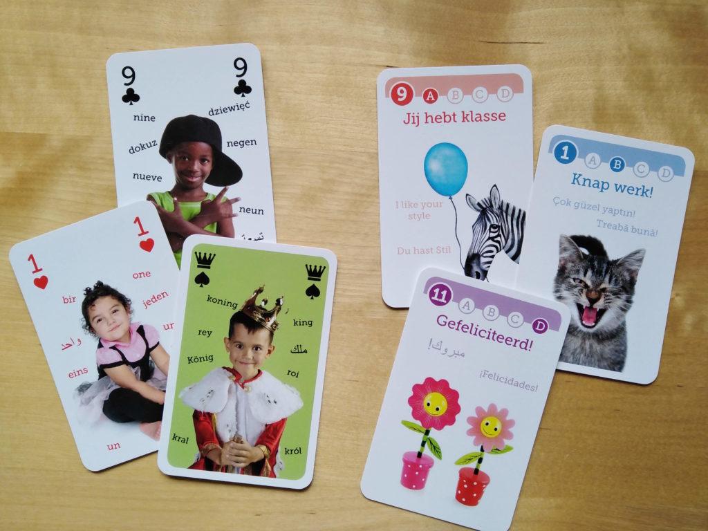 meertalige spellen kaartspel kwartet nik-nak