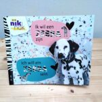 Ik wil een zebra zijn tweetalig boek met Duits