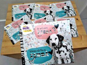 Ik wil een zebra zijn - tweetalige kinderboeken
