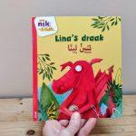 Lina's draak tweetalig kinderboek Arabisch_cover