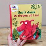Lina's draak tweetalig kinderboek Frans_cover