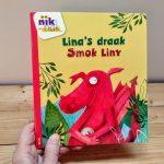 Lina's draak tweetalig kinderboek Pools_cover