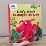 Lina's draak tweetalig kinderboek Spaans_cover