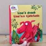 Lina's draak tweetalig kinderboek Turks_cover