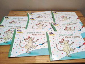 Mimi is cool tweetalig kinderboek